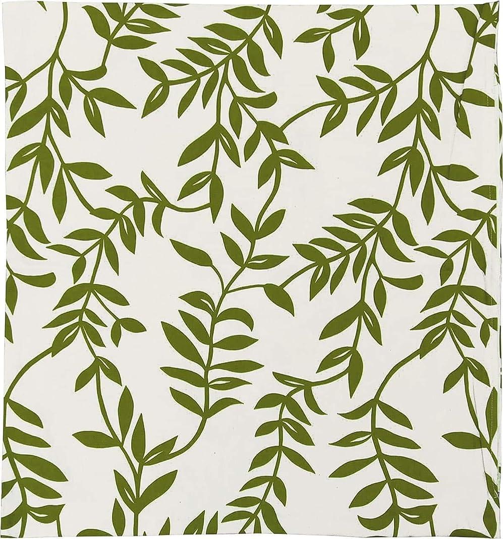 いわゆる賛美歌盗賊座布団カバー 約59×63cm 八端判 ハーブグラス 綿100% グリーン 日本製