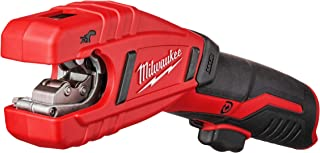 Milwaukee 2471-20 M12 Cordless Lithium Ion 500 RPM Copper Pipe and Tubing Cutter Adjustable from 3/8