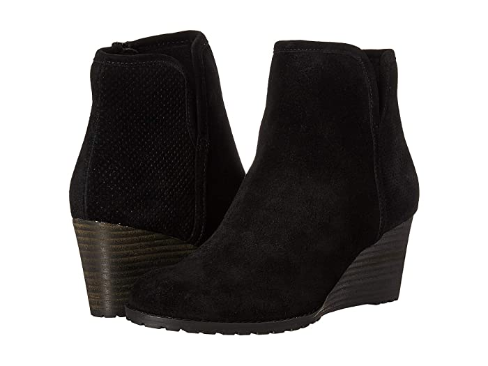 Rockport  Hollis Vcut Bootie (Black) Womens Boots