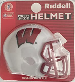 Riddell NCAA Wisconsin Alternate Red 2013 Speed Mini Helmet