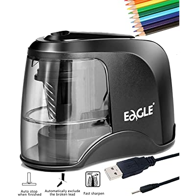PEMENOL Electric Pencil Sharpener Colored Penci...