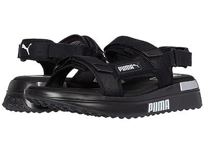 PUMA Future Rider Sandal (Puma Black/Puma White) Men