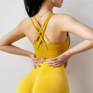 Sports Bra Gym Underwear Camis Women Fitness Yoga Crop Top Bras Athletic Vest Girl Shirt Sport Running Sportswear