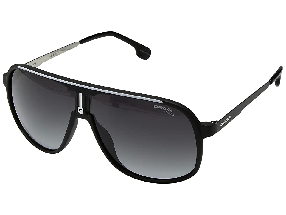 Carrera Carrera 1007/S (Matte Black with Dark Gray Gradient Lens) Sport Sunglasses
