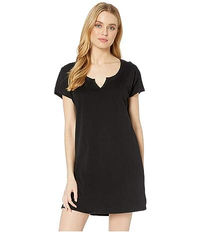 Skin Jessie Organic Cotton Sleepshirt (Black) Women