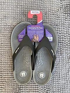 Acu-Reflex Massage Sandals/Slippers. Reflexology Sandals/Slippers. Acu-Shiatsu Comfortable Sandals/Slippers for Women (S-...