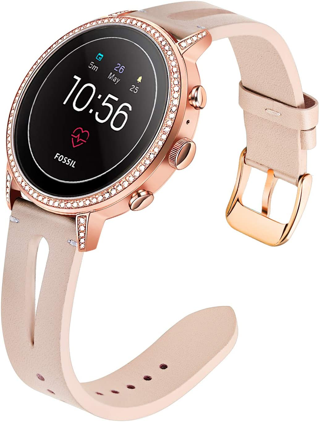 TRUMiRR Watch Band for Fossil Women's Max 44% OFF 4 Gen Credence 18mm Venture HR