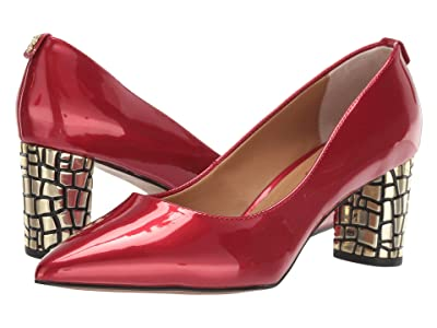 J. Renee Vaneeta (Red Patent) High Heels