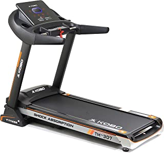 Kobo Fitness TM-307 (3.0 HP) A.C Motorized Semi Commercial Auto Incline Treadmill and Free Installation Assistance, Full D...