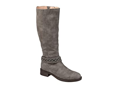 Journee Collection Paisley Boot Extra Wide Calf Women