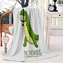 Soft Flannel Blanket & Throws for Couch or Bed The Thesaurus Swaddle Blanket Sleep Mat Multipurpose Blanket Dorm Bedroom Essential Bedding