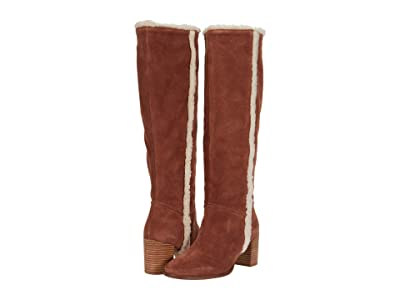 Seychelles Face To Face (Cognac Shearling) Women