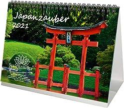 Japanzauber DIN A5 Tischkalender für 2021 Japan Stadt und L