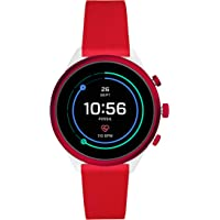 Fossil Women's Sport Metal and Silicone Touchscreen Smartwatch with Heart Rate