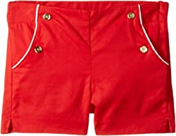 Button Front Shorts (Toddler/Little Kids/Big Kids)