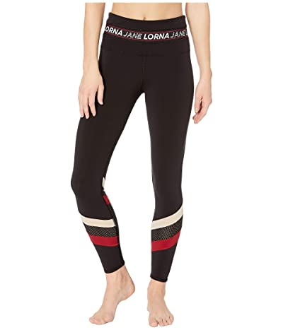 Lorna Jane Sweat It Full-Length Leggings (Black) Women