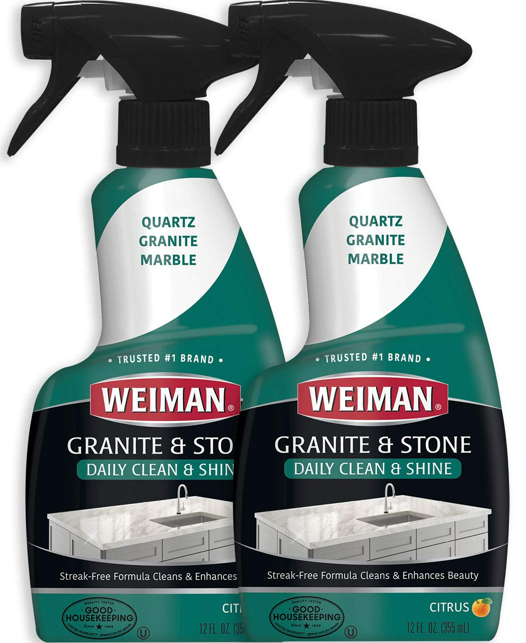 Weiman Granite Cleaner Polish Trigger