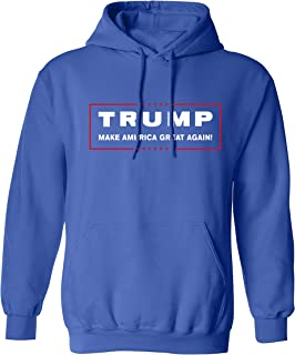 Political Trump Make America Great Again Adult Hooded Pullover