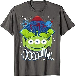 Disney Pixar Toy Story Aliens Cartoon Style Maglietta