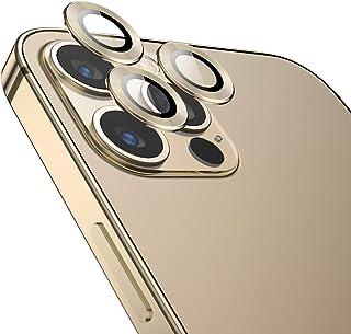 TAMOWA kamerahärdat glas för iPhone 12 Pro Max, kameraskärmskydd, kameraskydd, kameraskydd, linsskärmskydd