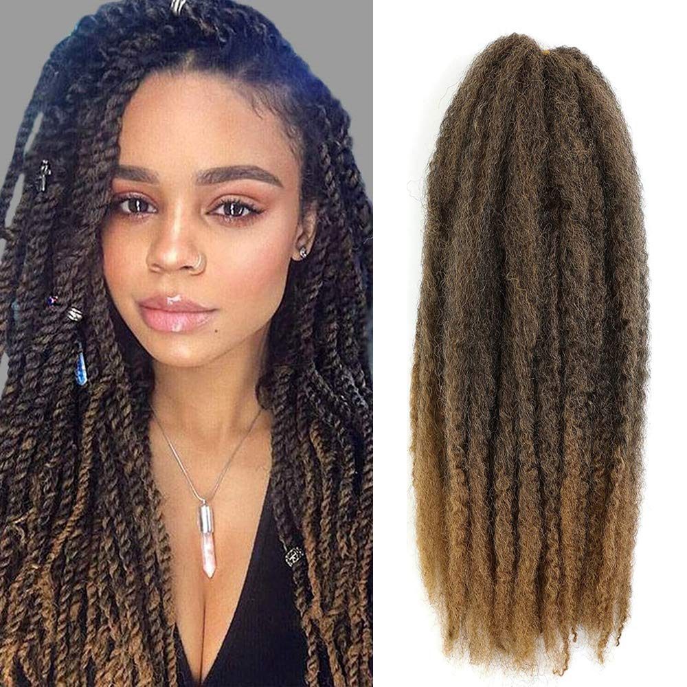 6 Packs Marley Twist Hair Now on sale 24 Kinky Curly Afro Braids Tampa Mall inch
