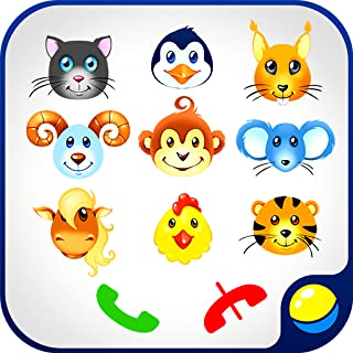 Babyphone for babies - fun interactive educational game for toddlers to make fake phone calls and learn numbers from 0 to 9, wild and domestic animals, animal sounds. Bright colors and merry music of the kids telephone contribute to better learning.
