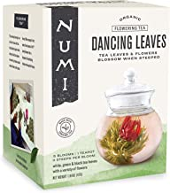 Sponsored Ad - Numi Organic Tea Dancing Leaves Flowering Tea Gift Set, 5 Tea Blossoms with 16 Ounce Glass Teapot (Packagin...