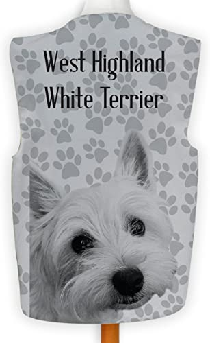 Fantaisie Gilet amusant DéguiseHommest Wacky Dog Show West Highland blanc terrier