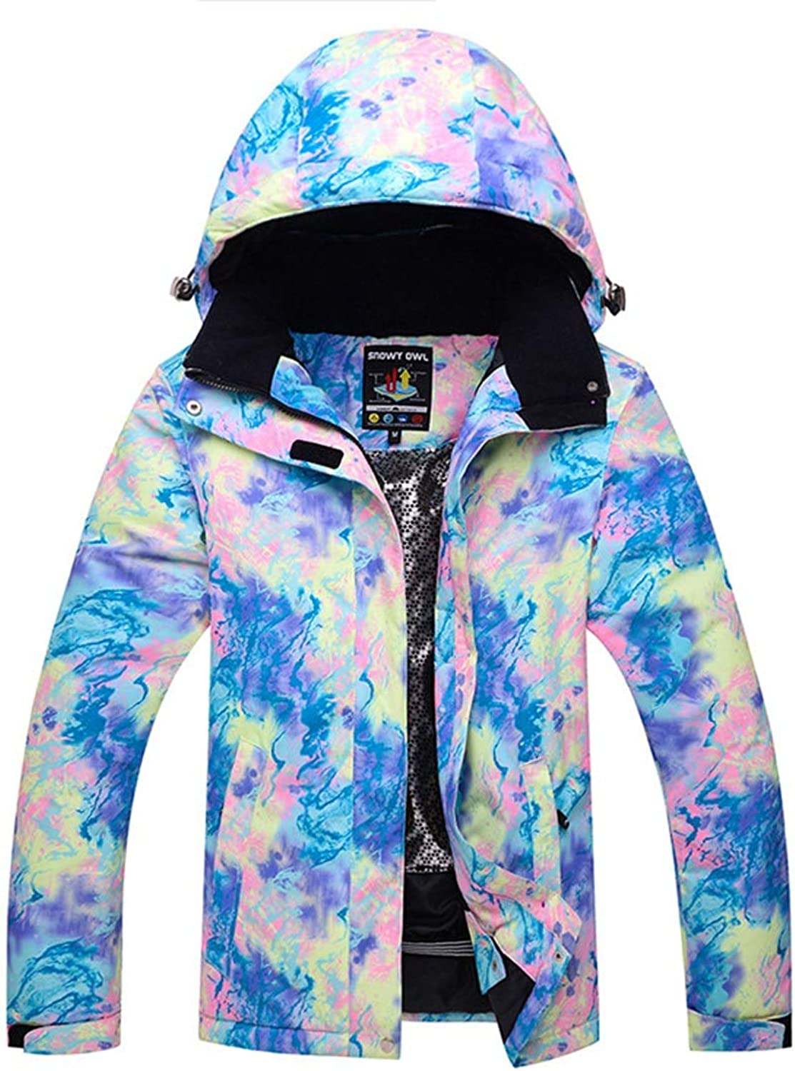 CEFULTY Women's Windproof Ski Jacket Outdoor Warm Snowboard