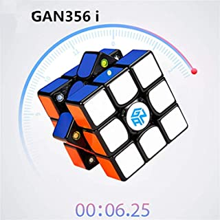 LiangCuber GAN356 i Magnetic Black Speed Cube Gans 3X3 356 i Station Magnets Online Competition Cubes GAN 356 Infinity(2019 New Version)