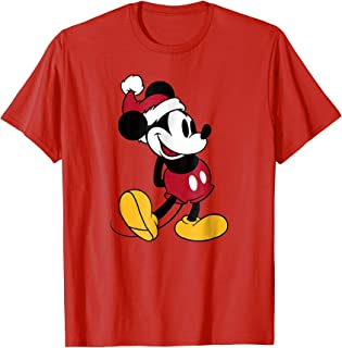 Classic Mickey Mouse Christmas T Shirt