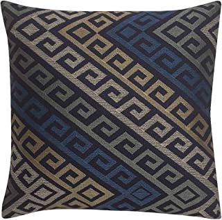ORNISA Designer Linen Cushion Covers for Sofa Couch - Pack of 1 Throw Pillow Cover - Square, Decorative, Soft and Comforta...