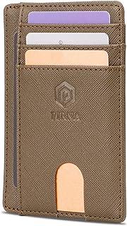 Slim Wallet for Men | RFID Blocking Minimalist Credit Card Holder – Lightweight Card Wallet with Gift Box (Green)