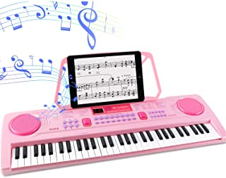 WOSTOO Electric Keyboard Piano for Kids-Portable 61 Key Elec