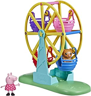 Hasbro Peppa Pig Peppa's Adventures Peppa's Ferris Wheel Playset Preschool Toy, with Peppa Pig Figure and Accessory for Ki...