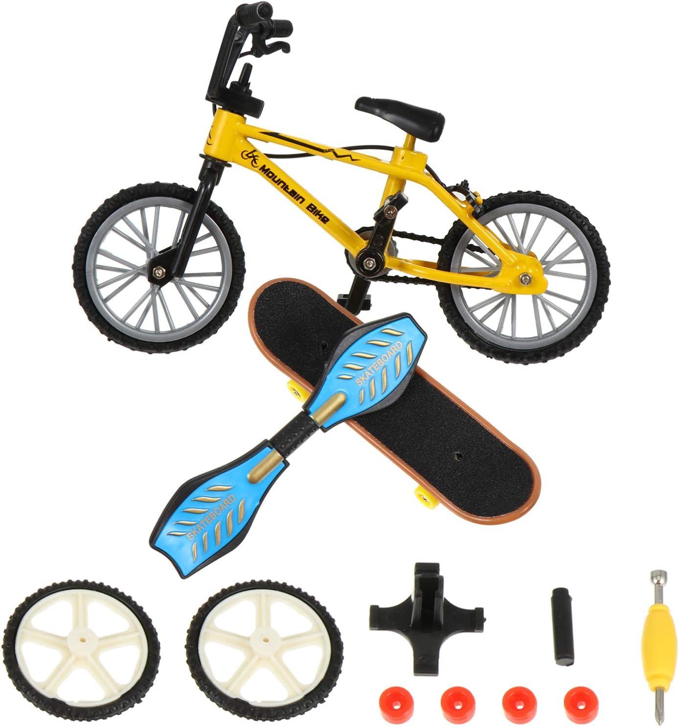 KESYOO New Free Shipping online shopping 1 Set Finger Toys Mini Skateboards