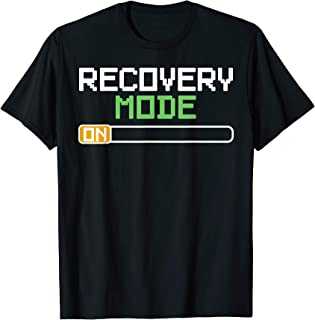 Recovery Mode On Get Well Gifts Funny Injury T-Shirts