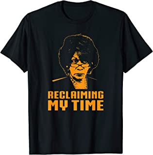 Reclaiming My Time Auntie Maxine Waters Political T-Shirt