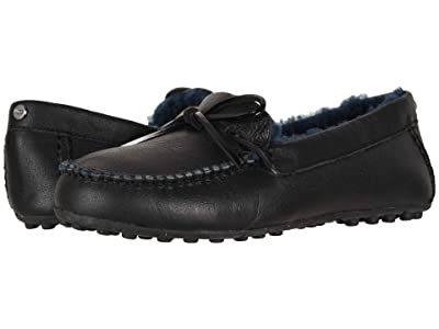 UGG Deluxe Loafer (Black) Women