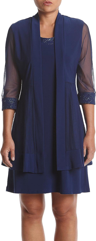 OFFer RM Richards Women's Glitter Dress Clearance SALE! Limited time! Jacket Trim