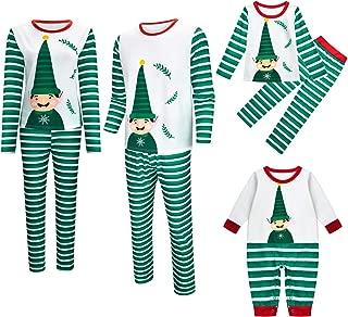 Matching Family Pjs Christmas Entire Family Jammies Cotton Pajamas Sets Best Kids Sleepwear Xmas A14
