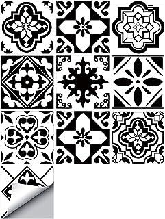 amazon fr carrelage noir et blanc