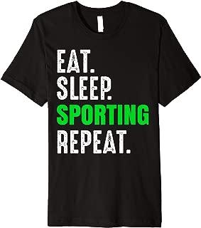 SPORTING Fans Funny Soccer Football Portugal Premium T-Shirt