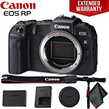 Canon EOS RP Mirrorless Digital Camera (Body Only) - Includes - Cleaning Kit and 1-Year Extended Warranty