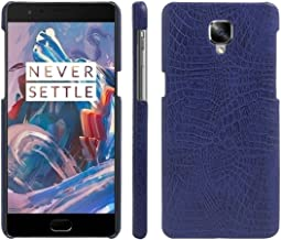 OnePlus 3 Case, OnePlus 3T Case, Fettion Premium PU Leather Wallet Flip Phone Protective Case Cover with Card Slots and Magnetic Closure for OnePlus 3 / OnePlus 3T Smartphone OnePlus3-LCover-Blue