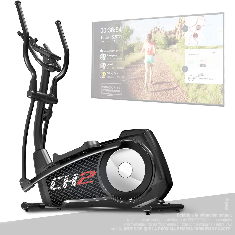 Sportstech CX2 - Bicicleta elíptica