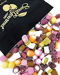 SweetGourmet Sweet Allsorts | Retro Candy Dolly Mix From England | All Natural Colors Flavors | Gustaf's Bulk Unwrapped | 2 Pounds