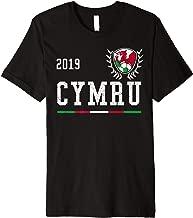 Wales Football Jersey 2019 Welsh Soccer Jersey Premium T-Shirt