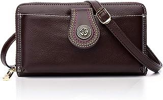 YOVIEE Damen Umhängetasche Kleine Handy Schultertasche Mädchen Frauen Crossbody Phone Bag Taschen PU-Leder RFID-Schutz Ele...