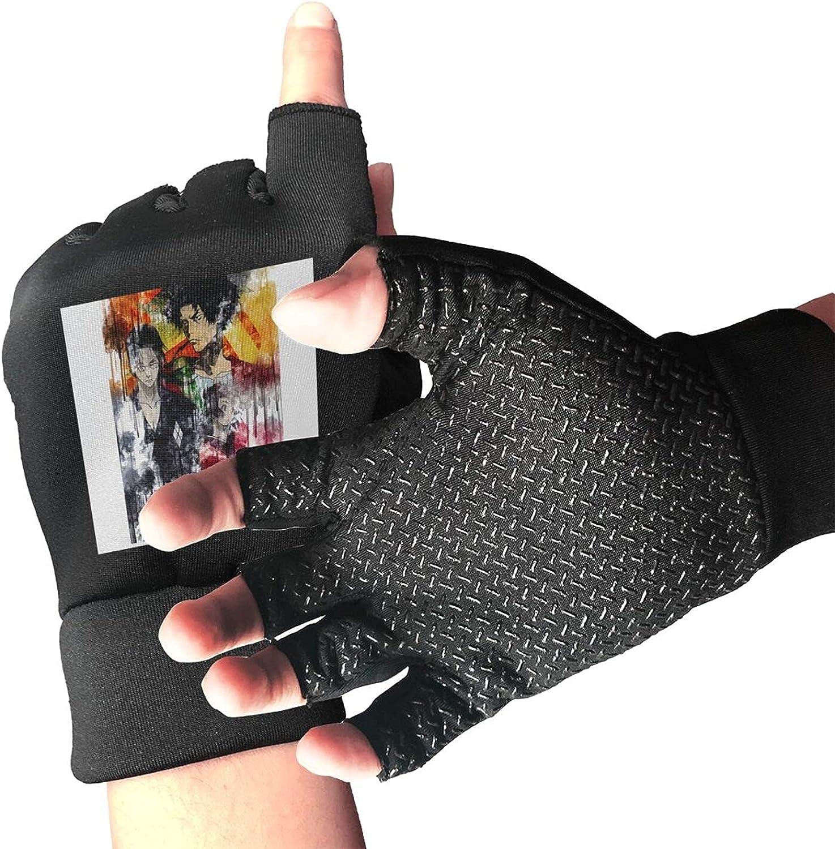 Samurai Champloo Knitted Mittens Gloves Stretchy Warmer Fingerless Non Slip Gloves For Unisex